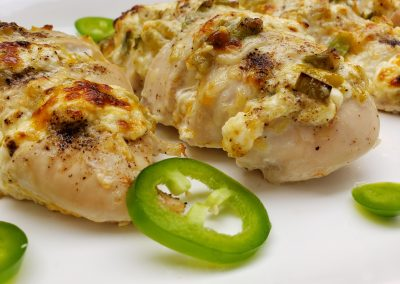 Jalapeenya Stuffed Chicken