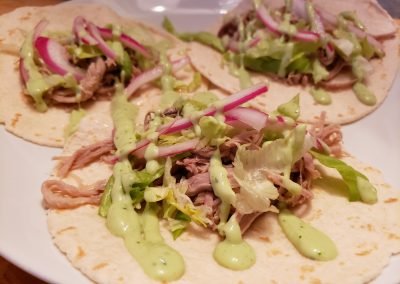 Macho Pork Tacos