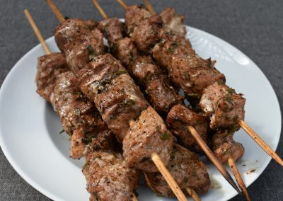 Dally's Famous Pork Kabobs