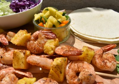 Mazin' Cajun Shrimp Tacos