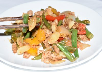 Spicy Chick Stir Fry