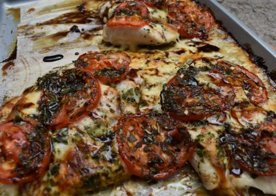 Breezy Caprese Chicken