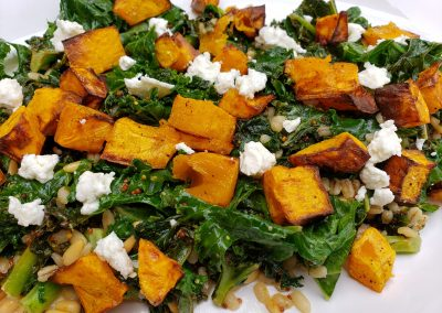 The Warmest Fall Salad