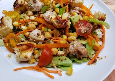 Halleloumi Salad
