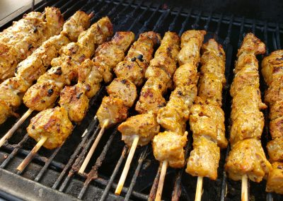 Dem Good Pork Skewers