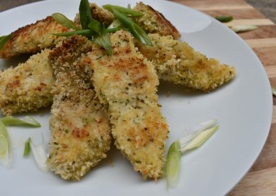 Coconut Crusted Chicken Nugz