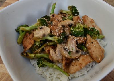 Sticky Orange Stir Fry